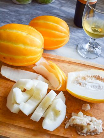 Korean Melons & Late Harvest Viognier