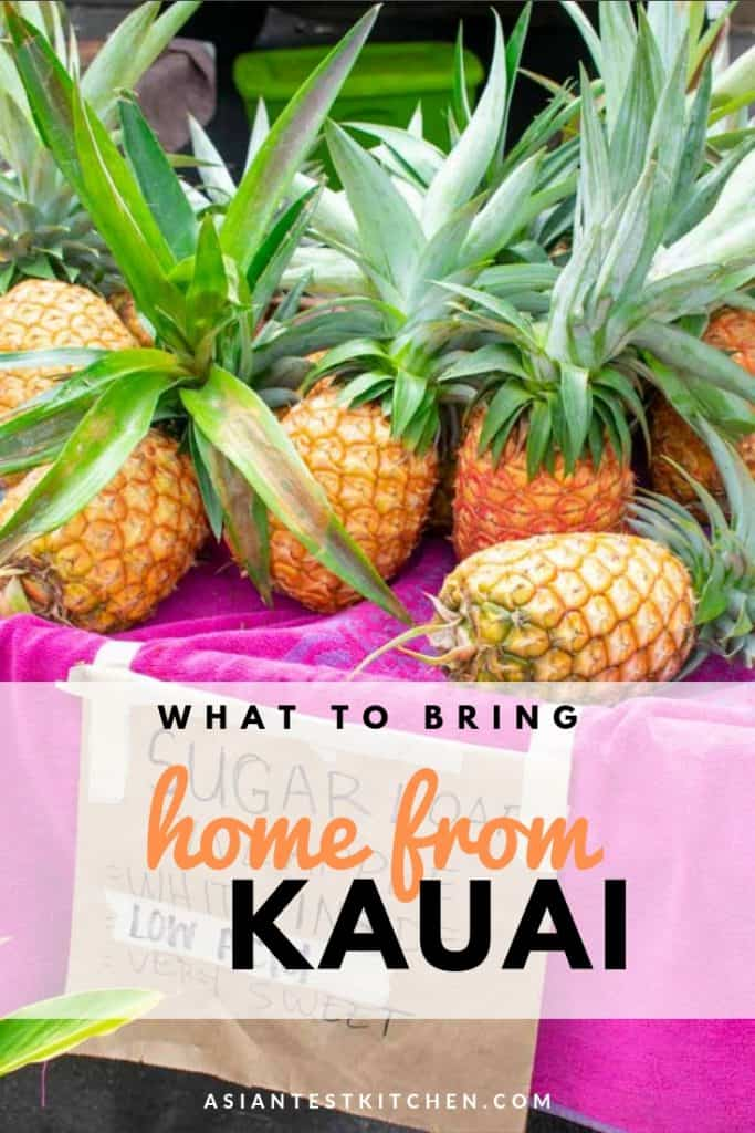 Top 5 Food Gifts from Kauai pinterest image