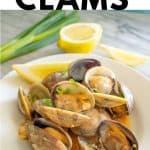 Japanese miso clams pinterest image 2