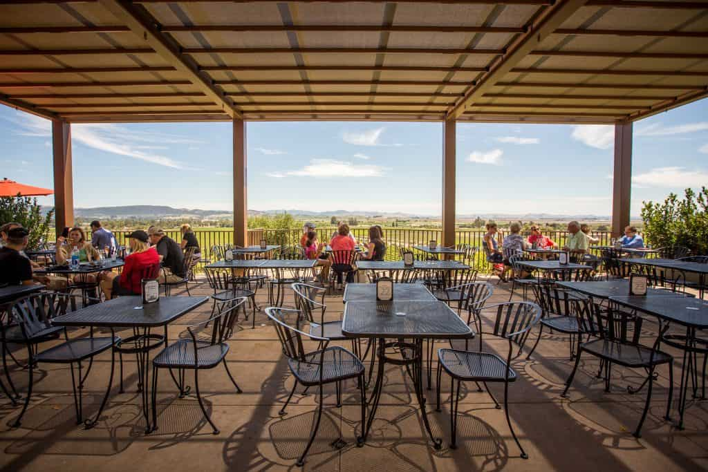 Vista Terrace at Gloria Ferrer winery
