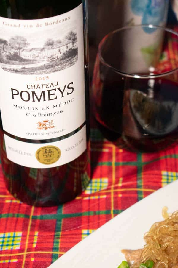 2015 Chateau Pomey Cru Bourgeois bottle