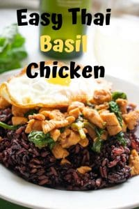 Easy Thai Basil Chicken