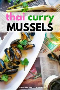 thai curry mussels pinterest image