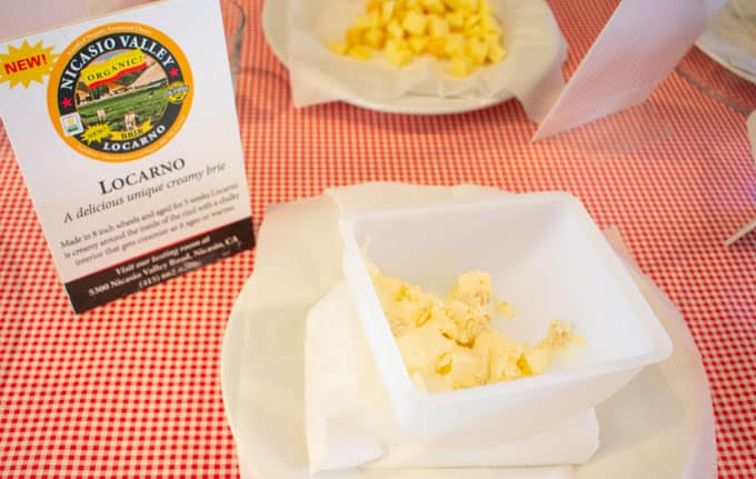 Locarno Organic Cheese from Nicasio Valley Cheese