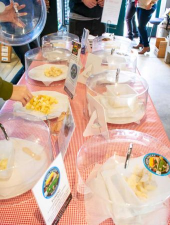 Organic Cheese Tasting at Nicasio Valley Cheese