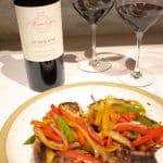 Bookwalter Winery Cabernet Franc paired with Pepper Steak