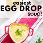 egg drop soup pinterest image