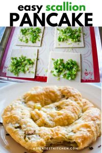 scallion pancake pinterest image