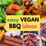 Vegan BBQ ideas pinterest image