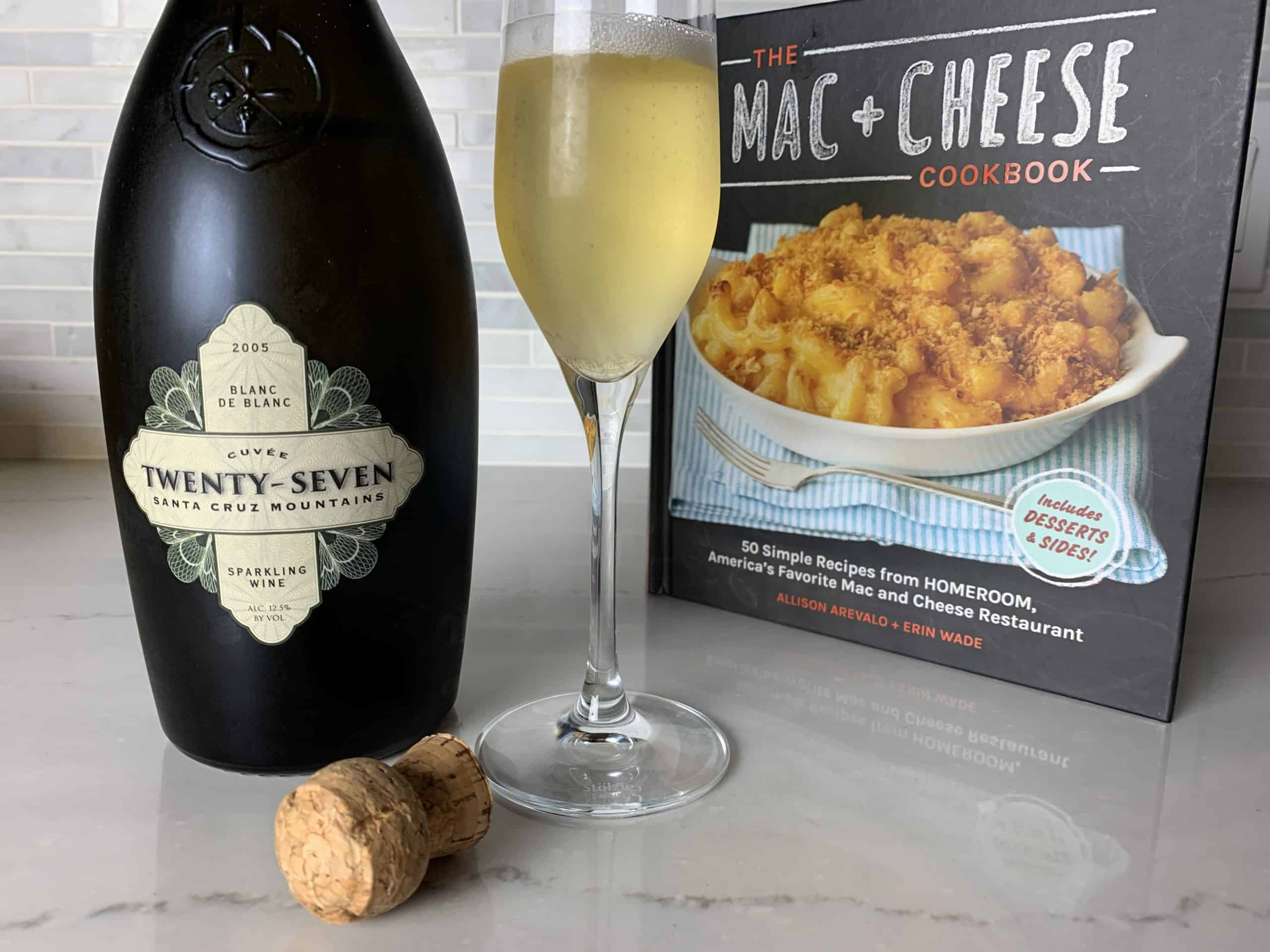 sparkling wine and & macaroni and cheese cookbook